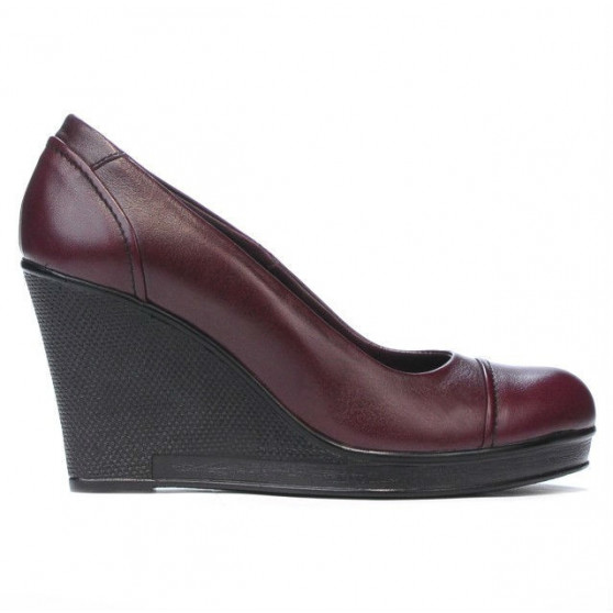 Pantofi casual dama 177 bordo
