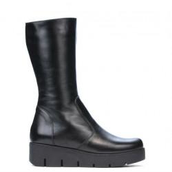Women knee boots 3315 black