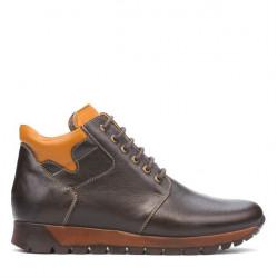 Men boots 495 cafe+brown