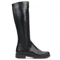 Women knee boots 3317 black