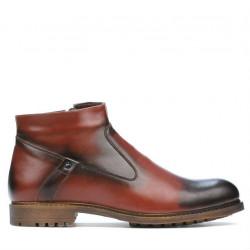 Men boots 4102 a brown
