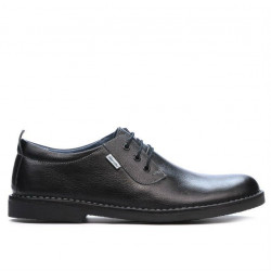 Men casual shoes (large size) 7201-1m black