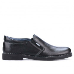 Men casual shoes (large size) 7200-1m black