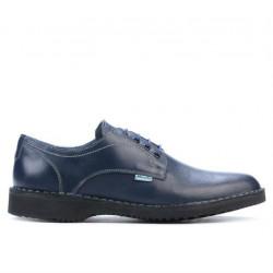 Men casual shoes (large size) 7202m indigo