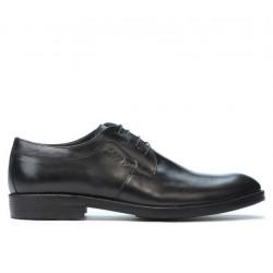 Men stylish, elegant, casual shoes 847 black