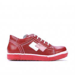 Pantofi copii mici 57-1c rosu
