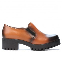 Women casual shoes 684 a brown