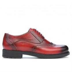 Pantofi casual dama 683 a rosu