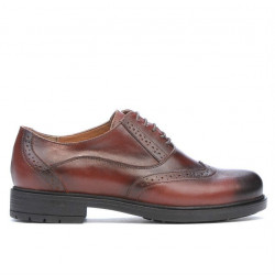Women casual shoes 683 a brown