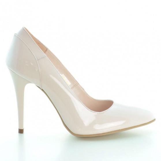 Pantofi eleganti dama 1230 lac roz deschis