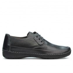 Women loafers, moccasins 672ms black