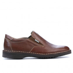 Men casual shoes (large size) 7203m brown