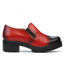 Women casual shoes 684 a red