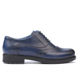 Pantofi casual dama 683 a indigo