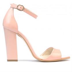 Sandale dama 1259 lac roz deschis