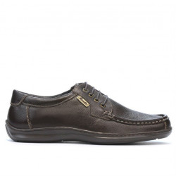 Men loafers, moccasins 818-1 cafe
