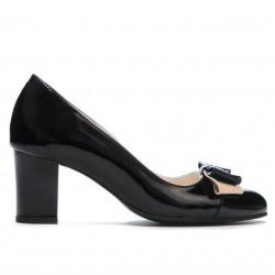 Women stylish, elegant shoes 1265 patent black