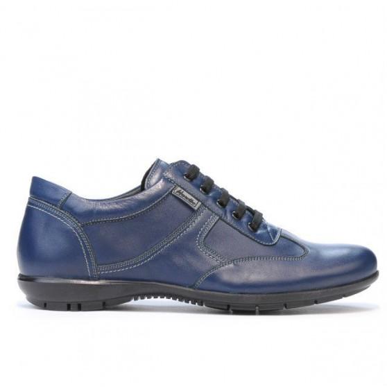 Pantofi sport barbati 872m indigo. Pret accesibil. Piele naturala. 74bcf39031