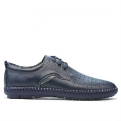 Men loafers, moccasins 871 indigo