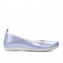 Pantofi copii 100 bleu sidef