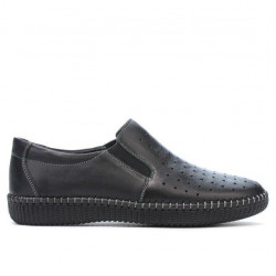 Women loafers, moccasins / adolescenti 689 black