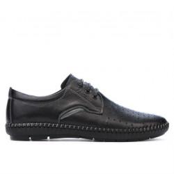 Men loafers, moccasins 871 black
