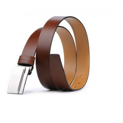 Men belt 17b brown