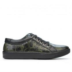 Pantofi casual/sport barbati 841 green camuflaj
