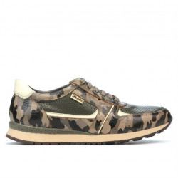 Men sport shoes 833 cafe camuflaj