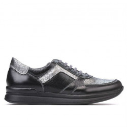 Women sport shoes 694 black combined