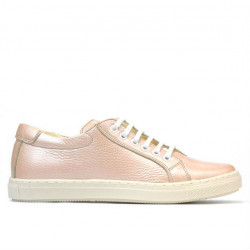 Women sport shoes 695 pudra pearl