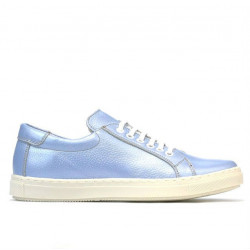 Women sport shoes 695 bleu pearl