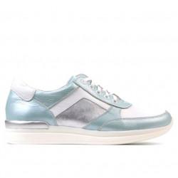 Pantofi sport dama 694 turcoaz sidef combinat