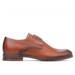 Teenagers stylish, elegant shoes 371 a cognac