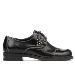 Pantofi casual dama 696 lac negru