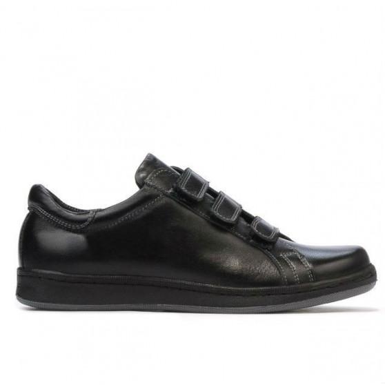 Teenagers stylish, elegant shoes 369sc black scai