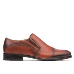 Pantofi eleganti barbati 877m a coniac