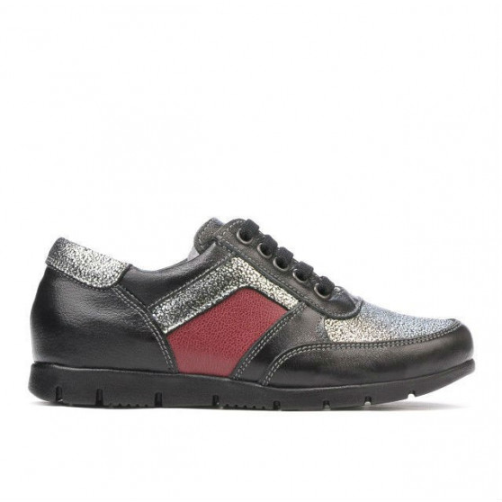 Pantofi copii 164 negru combinat