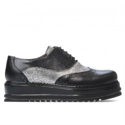 Women casual shoes 683-1 black combined
