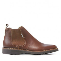 Men boots (large size) 7302m brown