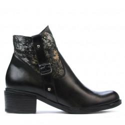 Women boots 3319 black pastel
