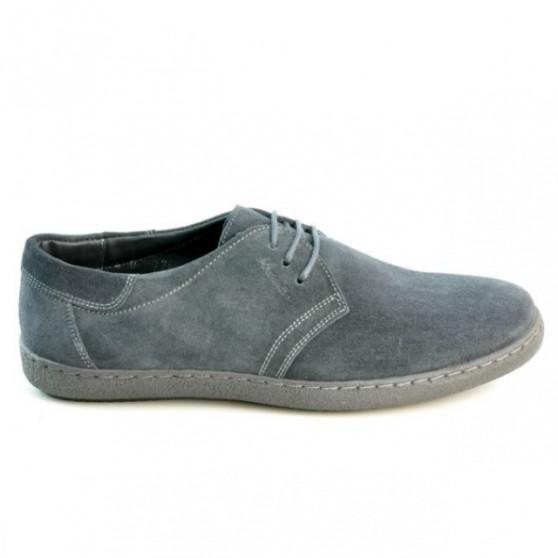 Pantofi casual barbati 774 antracit velur