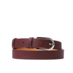 Women belt 06m burgundy