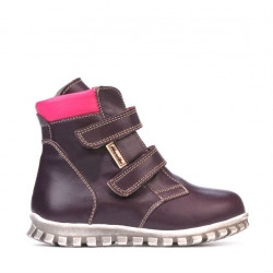 Small children boots 32-1c purple combined