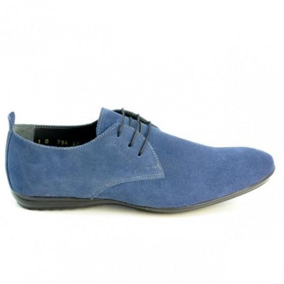 Pantofi casual barbati 794 indigo velur