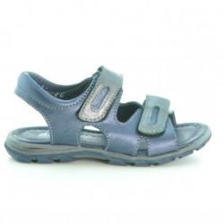 Sandale copii mici 11c indigo+gri