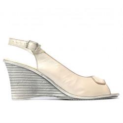 Sandale dama 596 bej sidef