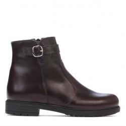 Women boots 3318 bordo