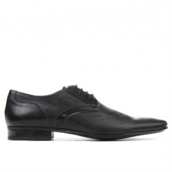 Men stylish, elegant shoes 800 black