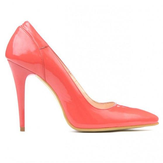 Pantofi eleganti dama 1230 lac rosu corai